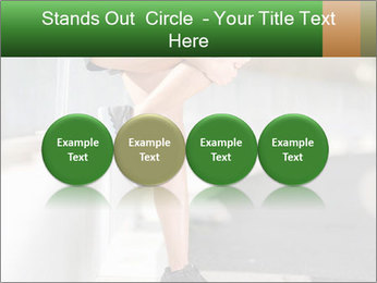 Knee injury PowerPoint Template - Slide 76