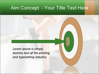 Knee injury PowerPoint Template - Slide 83