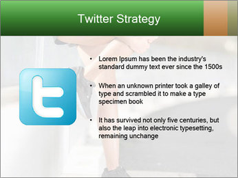 Knee injury PowerPoint Template - Slide 9