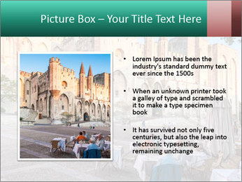 Pope palace in Avignon PowerPoint Templates - Slide 13