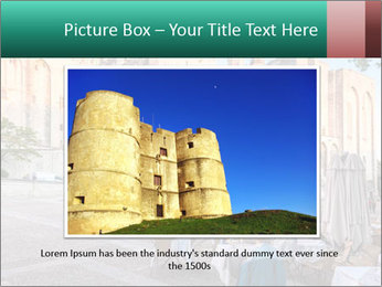 Pope palace in Avignon PowerPoint Templates - Slide 15