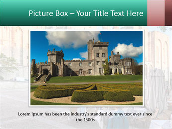 Pope palace in Avignon PowerPoint Template - Slide 16