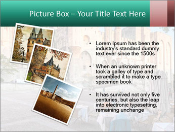 Pope palace in Avignon PowerPoint Template - Slide 17