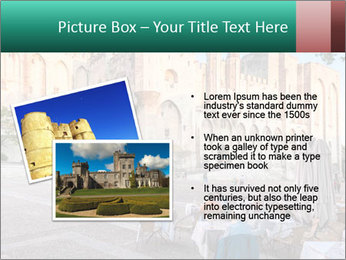 Pope palace in Avignon PowerPoint Templates - Slide 20