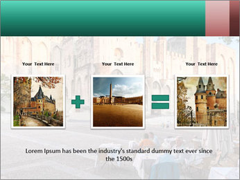 Pope palace in Avignon PowerPoint Templates - Slide 22