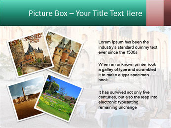 Pope palace in Avignon PowerPoint Template - Slide 23