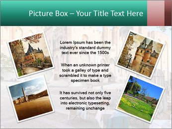 Pope palace in Avignon PowerPoint Templates - Slide 24