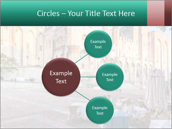 Pope palace in Avignon PowerPoint Template - Slide 79