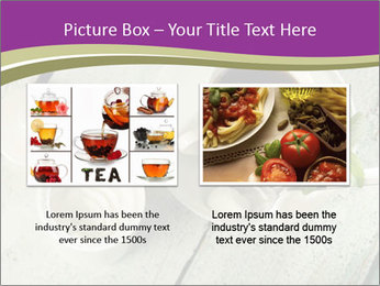 White stevia PowerPoint Template - Slide 18