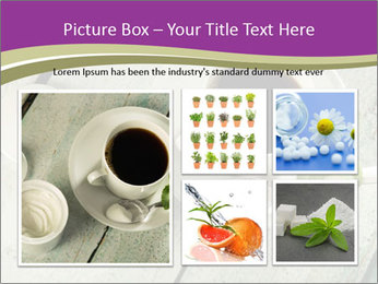 White stevia PowerPoint Template - Slide 19