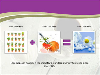 White stevia PowerPoint Template - Slide 22