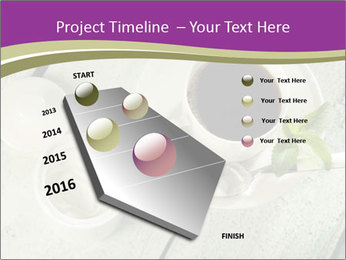 White stevia PowerPoint Template - Slide 26