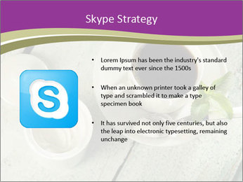 White stevia PowerPoint Template - Slide 8