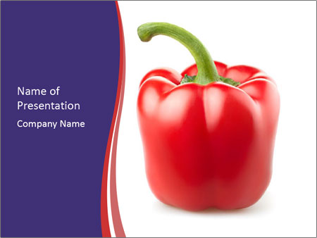 Red pepper PowerPoint Templates