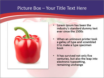 Red pepper PowerPoint Template - Slide 13