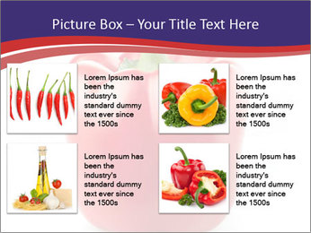 Red pepper PowerPoint Template - Slide 14