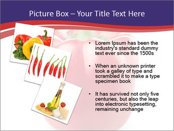 Red pepper PowerPoint Template - Slide 17
