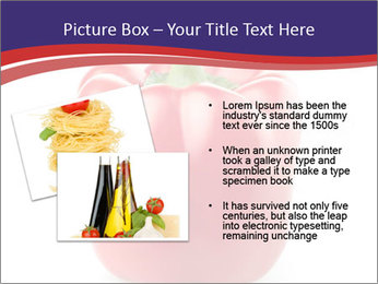 Red pepper PowerPoint Template - Slide 20