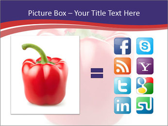 Red pepper PowerPoint Template - Slide 21