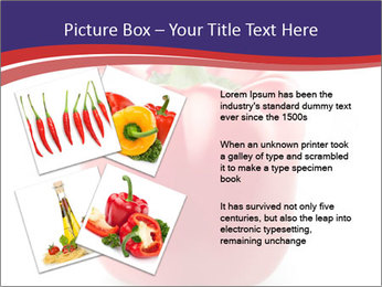 Red pepper PowerPoint Template - Slide 23