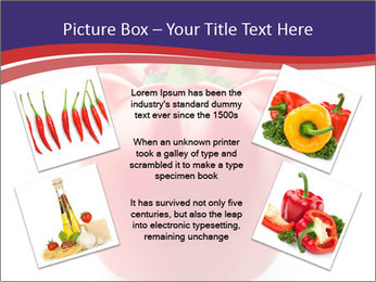 Red pepper PowerPoint Template - Slide 24