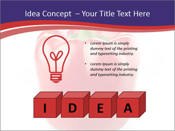 Red pepper PowerPoint Template - Slide 80