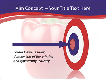 Red pepper PowerPoint Template - Slide 83