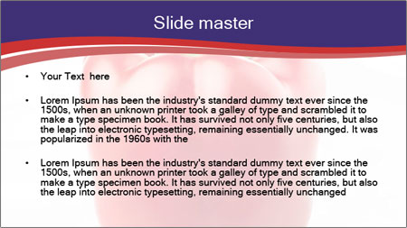 Red pepper PowerPoint Template - Slide 2