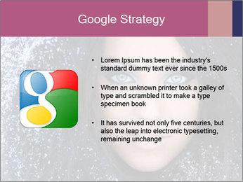 Woman in a snowy furry hood PowerPoint Template - Slide 10