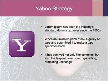 Woman in a snowy furry hood PowerPoint Template - Slide 11