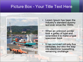 Containers on ships PowerPoint Template - Slide 13
