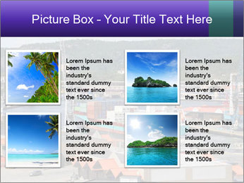 Containers on ships PowerPoint Template - Slide 14