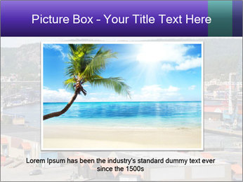 Containers on ships PowerPoint Template - Slide 16