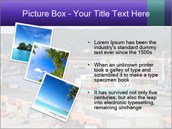 Containers on ships PowerPoint Template - Slide 17