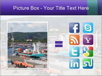 Containers on ships PowerPoint Template - Slide 21