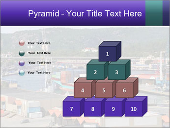 Containers on ships PowerPoint Template - Slide 31