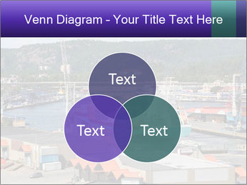 Containers on ships PowerPoint Template - Slide 33