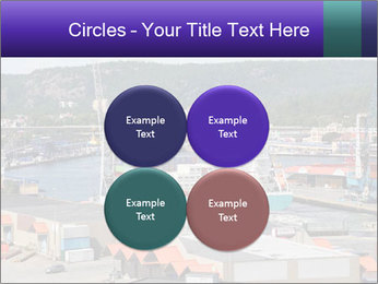 Containers on ships PowerPoint Template - Slide 38