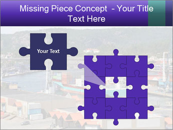 Containers on ships PowerPoint Template - Slide 45