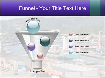 Containers on ships PowerPoint Template - Slide 63