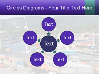 Containers on ships PowerPoint Template - Slide 78