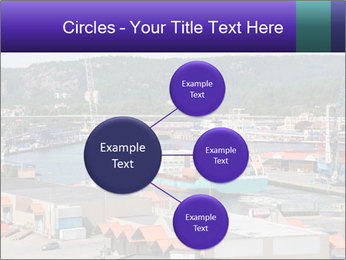 Containers on ships PowerPoint Template - Slide 79