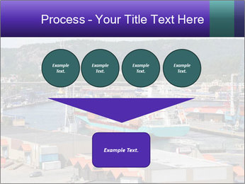Containers on ships PowerPoint Template - Slide 93