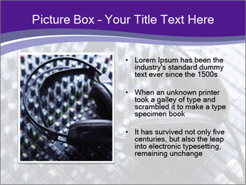 Headphones PowerPoint Templates - Slide 13