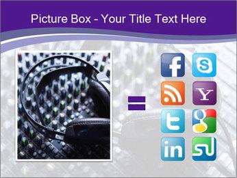 Headphones PowerPoint Templates - Slide 21