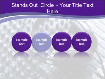 Headphones PowerPoint Templates - Slide 76