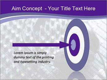 Headphones PowerPoint Templates - Slide 83
