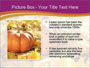 Halloween pumpkin PowerPoint Template - Slide 13