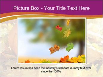 Halloween pumpkin PowerPoint Template - Slide 15
