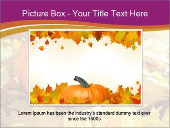 Halloween pumpkin PowerPoint Template - Slide 16